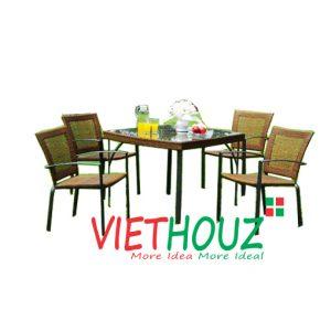 bàn ghế sân vườn VS1002